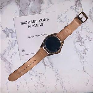 Michael Kors Rose Gold Access Smart Watch